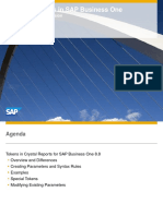 DefiningTokens-SAP Business One