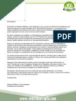 Carta Consulta Anticorrupcion