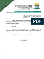08-2015 - Alteração Do Ementário Do PPC de Psicologia, Câmpus de Miracema