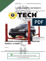 TECH - T4-5000B - Manual de Usuario