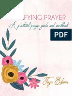 Simplifying Prayer