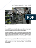 3 TP2 El Consumo en Argentina Cayó 4_ en 2016