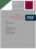 Informe n 5 Neutralizacion de Acidos y Bases Tecnicas de Titulacion