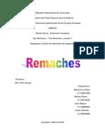 Trabajo - Remaches