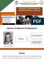 Hipnosis Ericksoniana Hipnoterapia Sexual