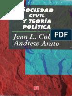 Cohen-Arato So. Civil y T. Política (CC)