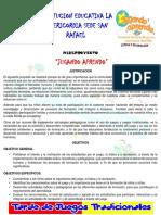 Miniproyecto Juegos Tradicionales 2018