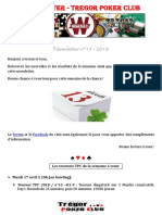 Newsletter n15- 2018 (13 Avril 2018)