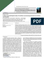 A Clinico-microbiological Study of Ventilator-Associated Pneumonia in a Tertiary Care Hospital