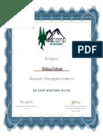 edcamp wme certificate  2