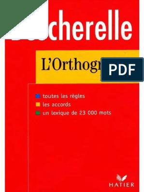 Francais Orthographie Langue Francaise