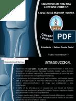 Exposicion Osteoartrosis de Rodilla - Daniel