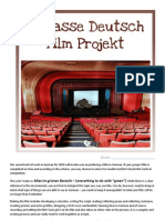 Film Projekt Booklet