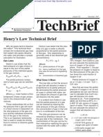 Henry's Law O2 Deaerator