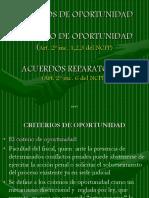 2w-Criterios de Oportunidad