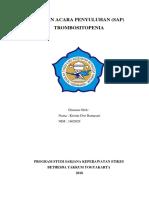 SAP Trombositopenia