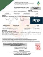 Certificado Bombeiro Atual 2017
