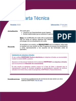 Carta Tecnica Factura Electronica 500
