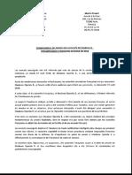 Communiqué de presse des avocats de la jihadiste française Djamila Boutoutaou