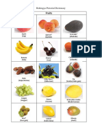 Rohingya Pictorial Dictionary (Fruit)