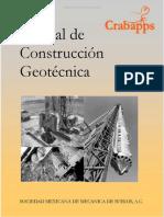 Manual de Construcción Geotecnica - Sociedad Mexicana de Mecánica de Suelos (TOMO I)