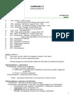 Lucrare Practica 21 - Antibiotice 1