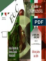 Convite Noite Napolitana 2017