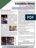 Edendale 16 September Newsletter