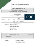 Inforeme Proyecto Semaforo Automatizacion