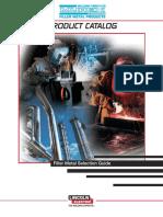Murex Filler Metal Selection Guide