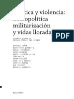 Estética y violencia. Necropolítica, militarización y vidas lloradas.pdf