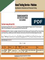 National Testing Service Faizan