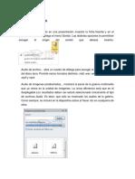 INSERTAR Elementos Multimedia