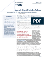 2018-04-Testimony-How Texas Can Upgrade School Discipline Policies-CEJ-Levin