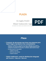 Marketing Mix Plaza-distribucion