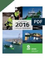DEME Anual Report 2016