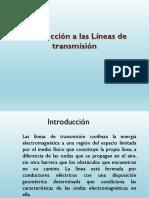 Apuntes Sobre Las Lineas de Transmision 1