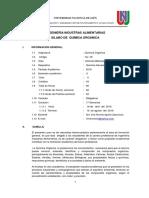 Silabo de Ingeniería de Industrias  Alimentarias-2018 -I-Universidad Nacional de Jaén-Dra. Irma Rumela Aguirre Zaquinaula
