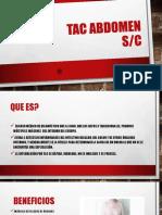 Tac Abdomen S-C