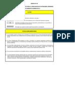 Zonificacion - Clave de Indice de Usos