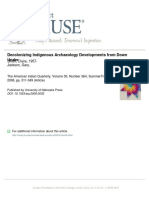Decolonizing Indigenous archaeology developments from down under. Smith C. & Jackson 2006