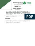Modulo 3 TAREA1 [10%]- DEV C++