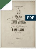 Bonisseau - Etudes Trompette