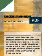 EJERCICIOS TERAPEUTICOS - amplitud