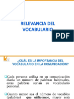 Base Teorica de Vocabulario