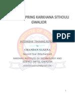 Training Report_1466958477542