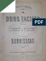 Bonisseau - Duos - Trompette