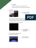 1- Proceso de Encendido Del Computador