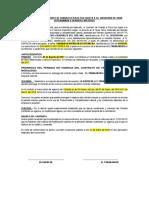 Renovación Modelo de Contrato de Trabajo a Plazo Fijo Sujeto a La Modalidad de Obra(1)