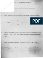 Mates Bachillerato - Exámenes de Matemáticas